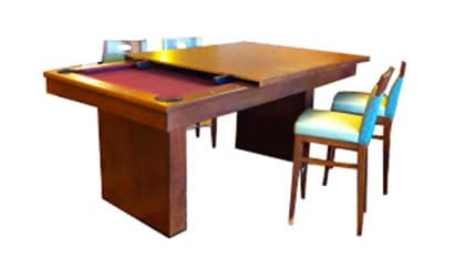 The Hampton - Craig Billiards Custom Pool and Billiard Tables