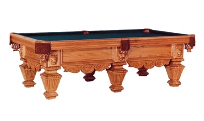 The King David - Craig Billiards Custom Pool and Billiard Tables