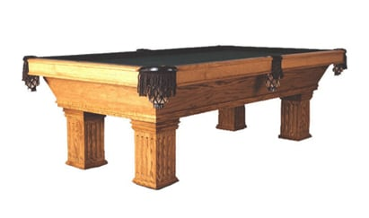 The Bellingham - Craig Billiards Custom Pool and Billiard Tables