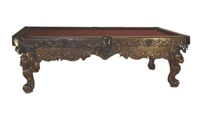 The Emperor - Craig Billiards Custom Pool and Billiard Tables