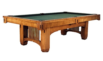 The Heartland - Craig Billiards Custom Pool and Billiard Tables