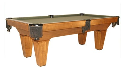 The Maddox - Craig Billiards Custom Pool and Billiard Tables