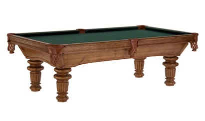 Timberline - Craig Billiards Custom Pool and Billiard Tables