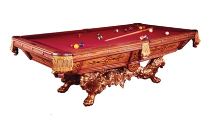 Victorian - Craig Billiards Custom Pool and Billiard Tables