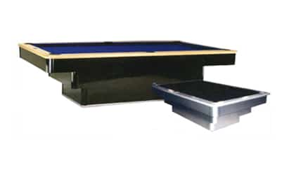 Vision Step Base - Craig Billiards Custom Pool and Billiard Tables