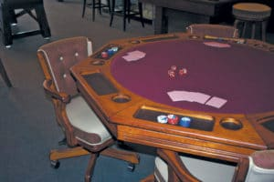 Card players and their friends can take their seats at the next gathering for a little poker or another favorite game