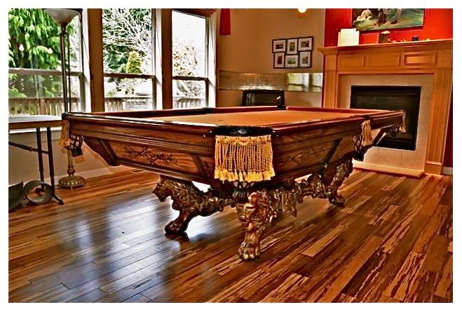 Pool And Billiard Table Construction Craig Billiards - Pool table movers portland oregon